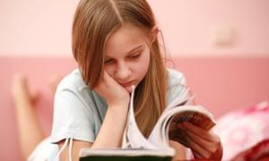 Girl StudyingB10J85 Girl Studying kid s children s
