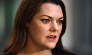Greens Senator Sarah Hanson-Young. (AAP Image/Mick Tsikas) NO ARCHIVING