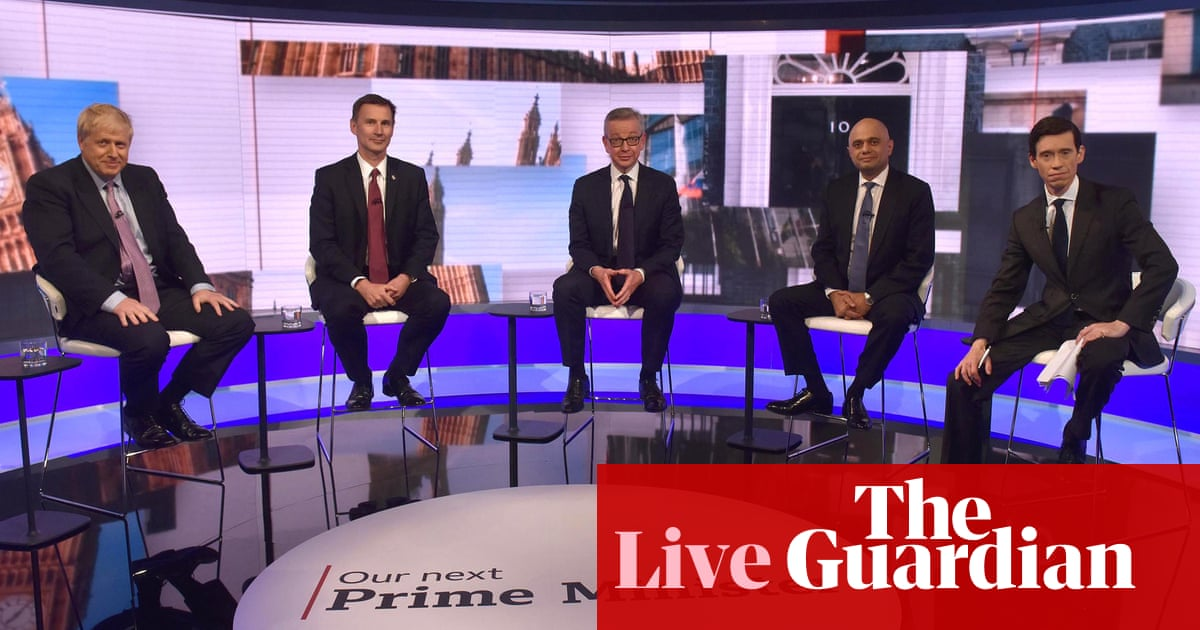 Tory leadership candidates rule out pre-Brexit election in BBC