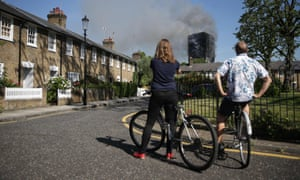 'The tragic blaze at the 24-storey Grenfell Tower is not the first time one of the capital's tower blocks has hit the headlines in the worst possible way.'