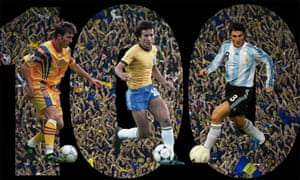 Gheorghe Hagi, Zico and Javier Zanetti led our panel of 123 judges
