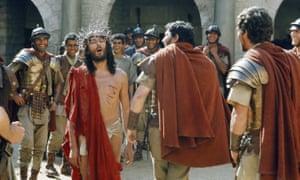 Robert Powell in Jesus of Nazareth (1977).