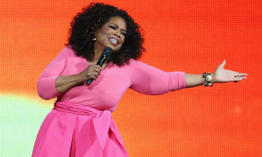 "In her new Weight Watchers advert, Oprah Winfrey claims that ""inside every overweight woman is a woman she knows she can be""."