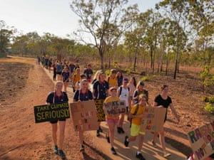 Walking the walk and talking the talk in Katherine.