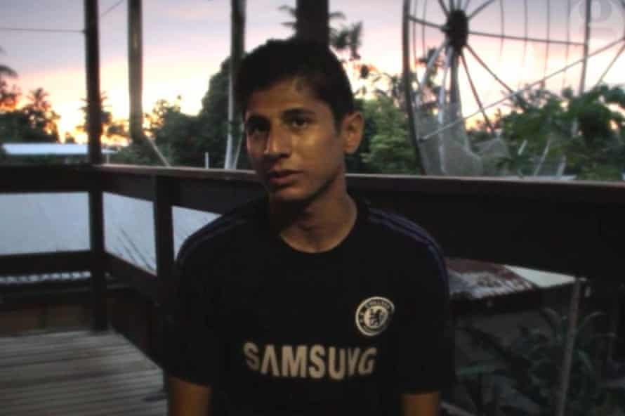 Loghman Sawari says he sought asylum in Fiji after he was left homeless and destitute by Australia and PNG.