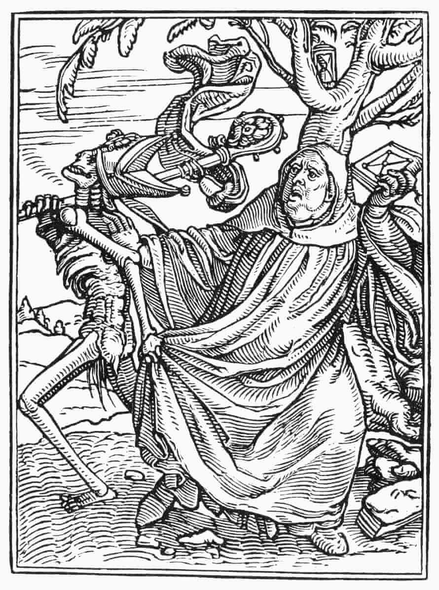 Holbein Dance Death Abbot