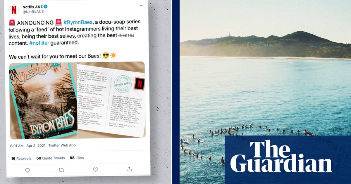 Byron Bay residents call on Netflix to scrap Byron Baes TV series