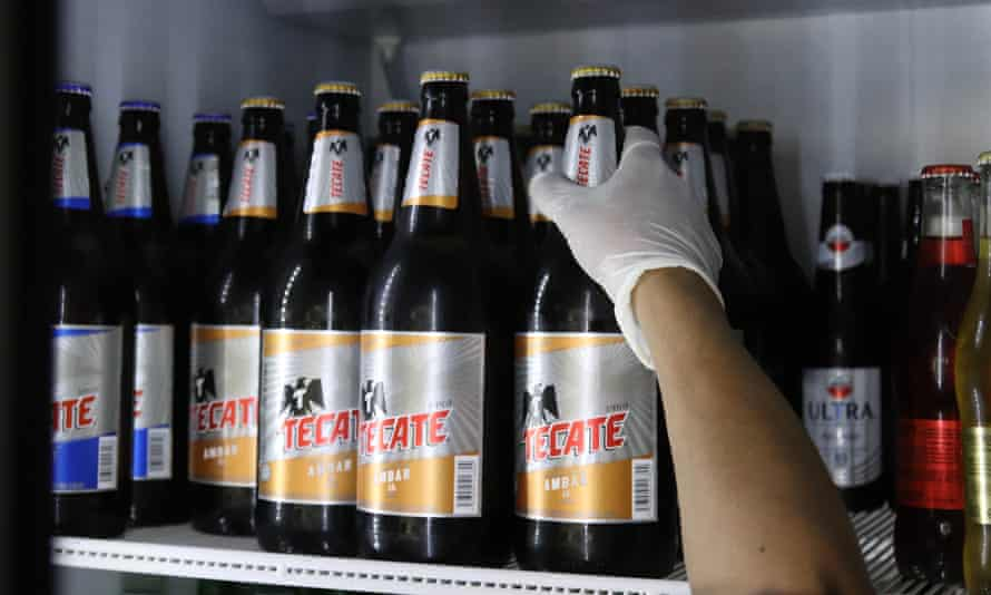 Beer for sale early last month in Mexico. Supplies have dwindled as the country in a national beer drought.