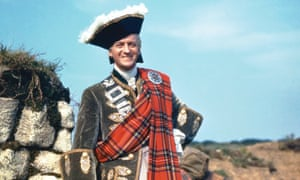 David Niven as Prince Charles in the 1948 film Bonnie Prince Charlie
