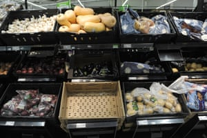 Asda vegetable trays