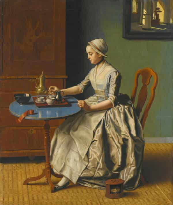 A Dutch Girl at Breakfast, by the 18th-century Swiss artist Jean-Étienne Liotard