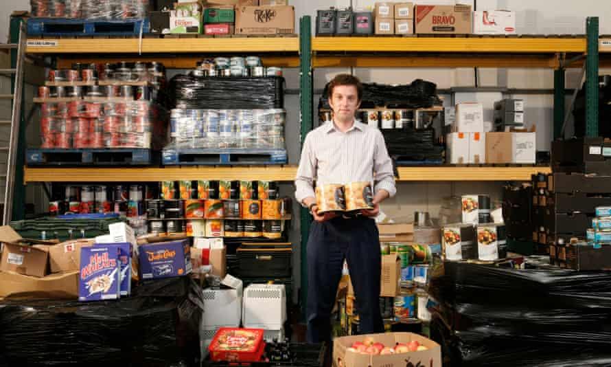 Real Aid Food Bank CharityLindsey Killick who organises the Real Aid Food Bank Charity