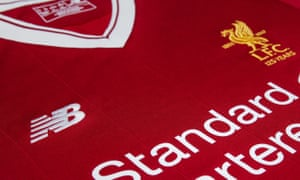 Liverpool's kit has been made by New Balance since 2012 - from next season it will instead be produced by Nike