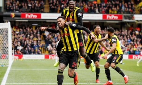 Watford v Crystal Palace: FA Cup quarter-final –live!