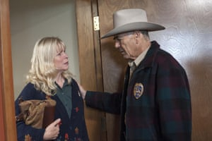 Forster also starred in  in television shows like Breaking Bad and the Twin Peaks revival, pictured here with Candy Clark.