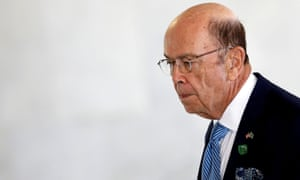 Wilbur Ross in Brazil on 31 July.