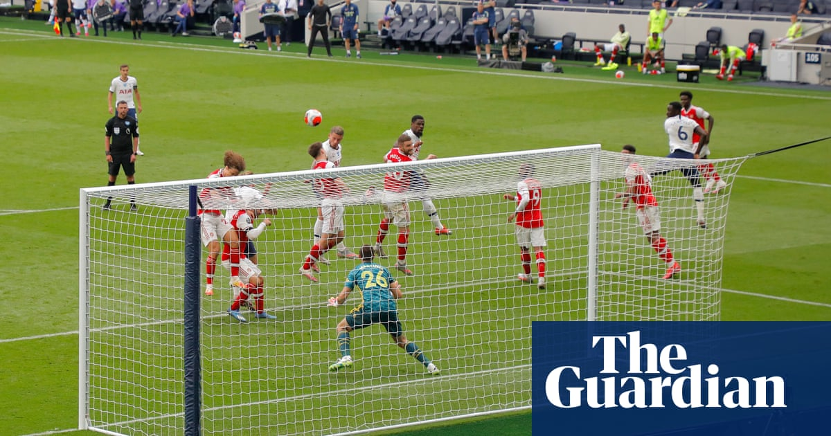 Tottenham win but derby leaves fog of confusion over north London   Jonathan Wilson