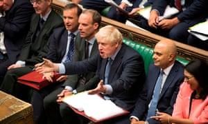 Boris Johnson, reacting to Jeremy Corbyn