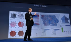 CEO of Cambridge Analytica, Alexander Nix. The company initially worked for Ted Cruz before switching to Trump campaign.
