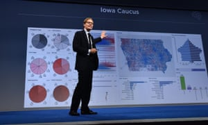 Cambridge Analytica chief Alexander Nix at the 2016 Concordia Summit.
