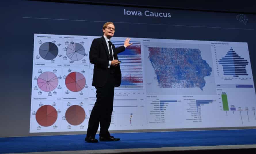 Cambridge Analytica chief Alexander Nix at the 2016 Concordia Summit.