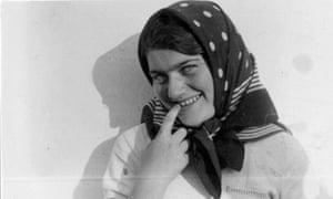 Renia Spiegel in 1939, in Skole, Ukraine (then Poland).