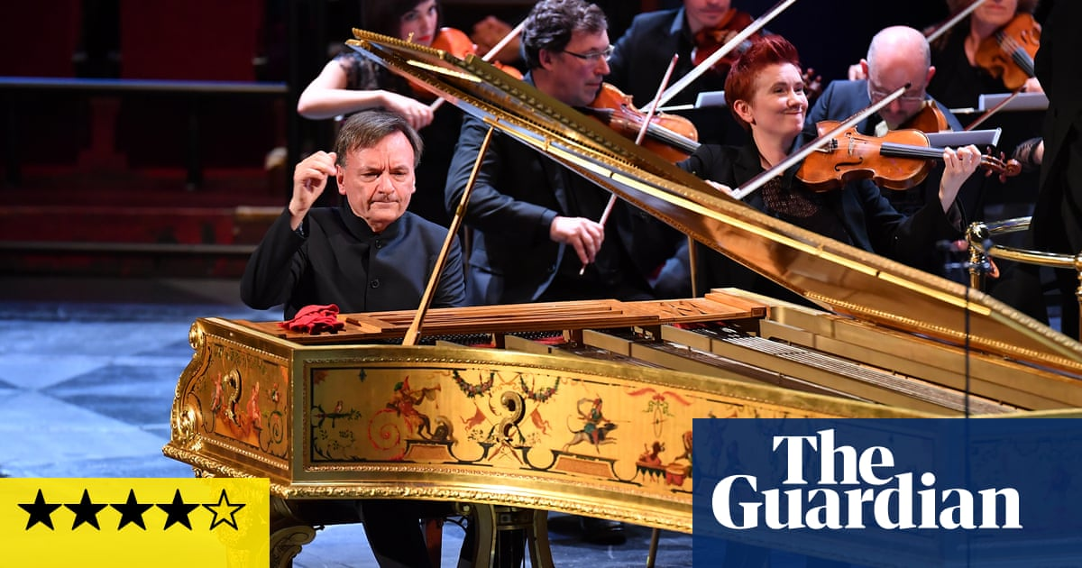 Prom 40: OAE/Hough review – a riot of orchestral colour