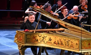 Delicate melody ... Stephen Hough playing Queen Victoria's Erard grand piano.