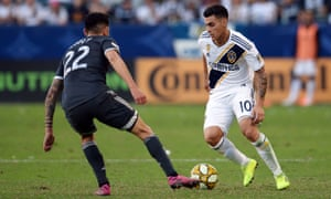 Cristian Pavón is back for a second season with LA Galaxy