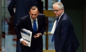 Tony Abbott and Turnbull