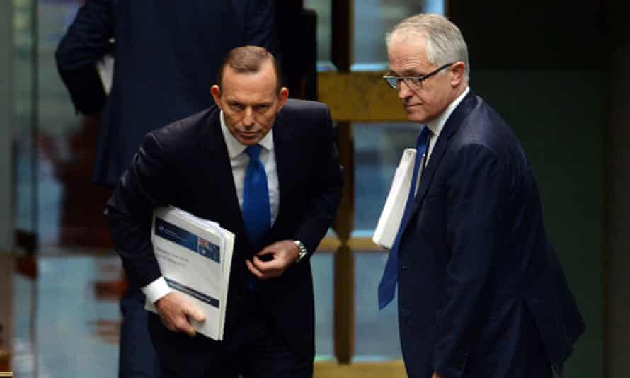 Tony Abbott and Malcolm Turnbull