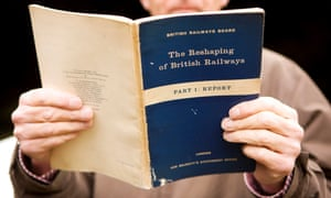 A copy of The Beeching report.