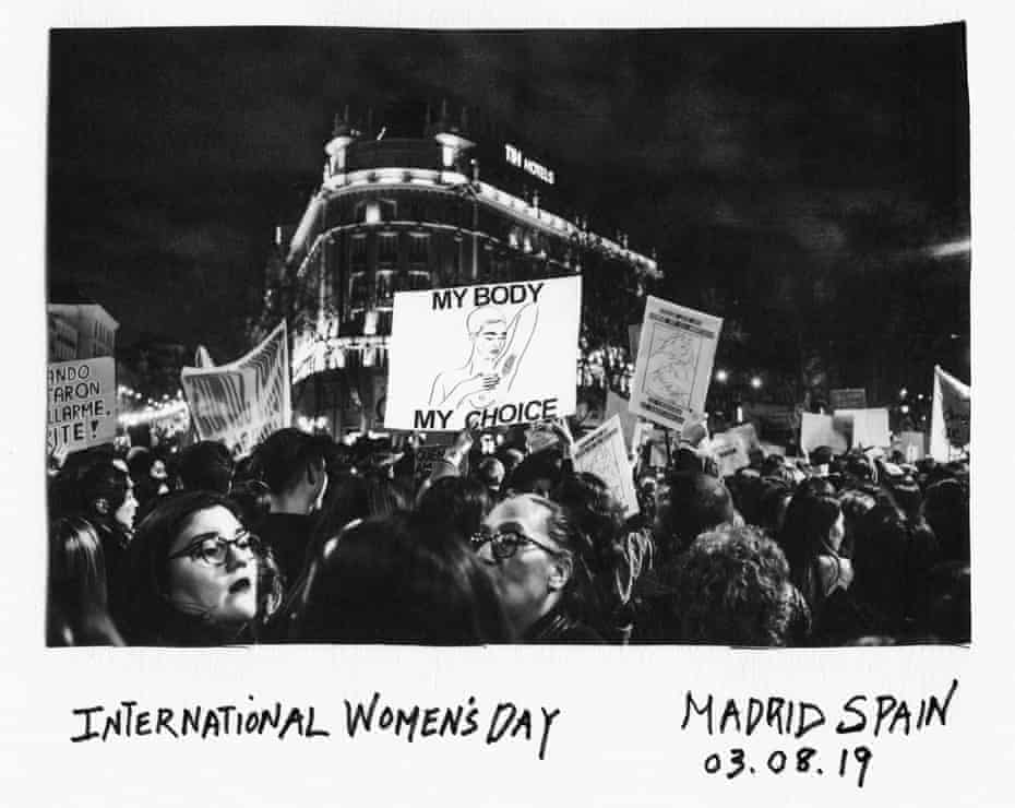 International Women's Day march, Madrid, 2019