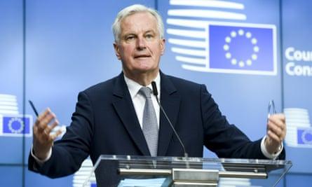 The EU's chief negotiator for Brexit, Michel Barnier