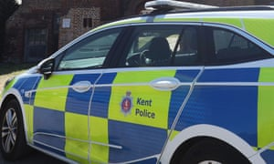 A Kent police vehicle