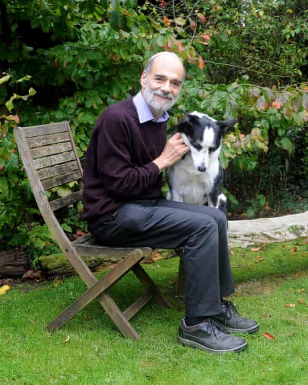 Rabbi Jonathan Wittenberg and his dog, Mitzpah