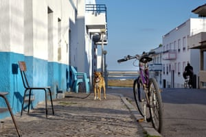 'It's the being here that matters': the cobbled streets of Fuseta.