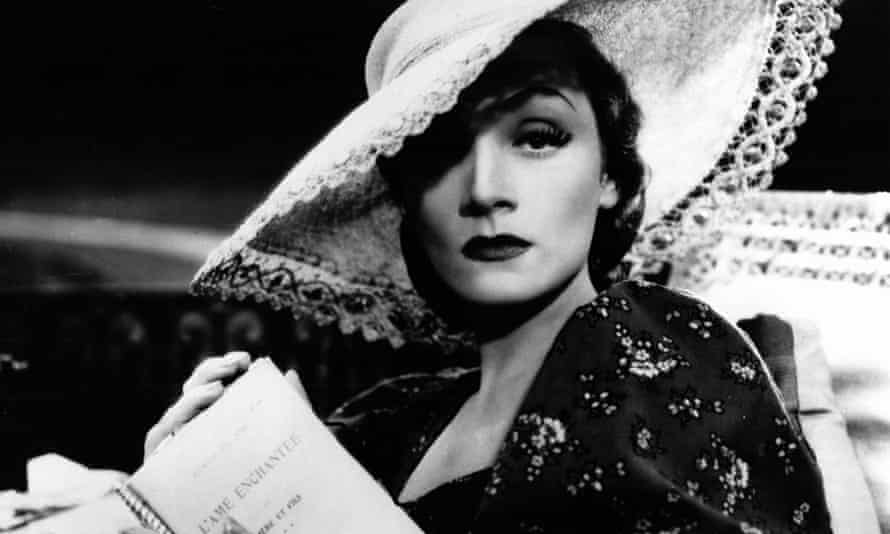 Marlene Dietrich in Knight Without Armour.