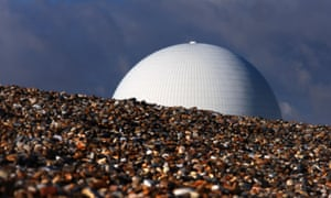 Sizewell B nuclear power station, in Suffolk.