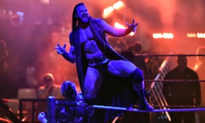 'You have to know how to make them cheer for you as the good guy, or boo you as the bad guy': Drew McIntyre in Rome, November 2018.