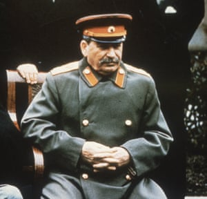 Joseph Stalin at the Yalta conference in 1945.