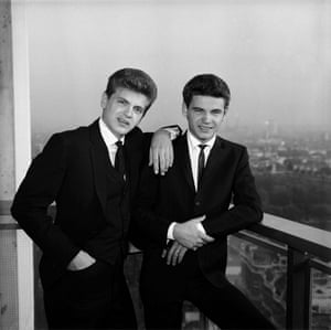 The brothers in 1960
