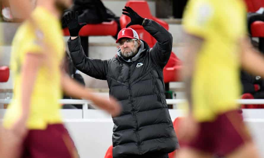 Jürgen Klopp's side have only one victory in the last seven matches and have dropped from first to fifth in the Premier League table.