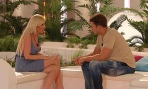 Love Island  Amy Hart and Curtis Pritchard