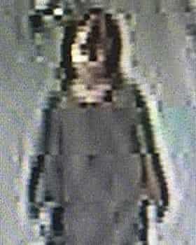 A CCTV still of the-girl