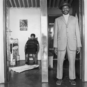 George and Sarah Manyane, 3153 Emdeni Extension, Soweto, 1972Goldblatt and Cole documented the many sides of apartheid South Africa.