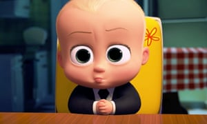 The Boss Baby in action