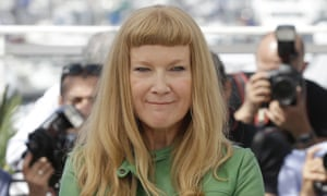 Director Andrea Arnold at Cannes film festival in May.