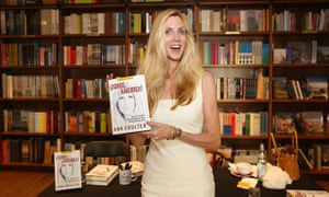 Author Ann Coulter.