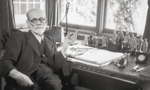 Signmund Freud at his desk, 1938